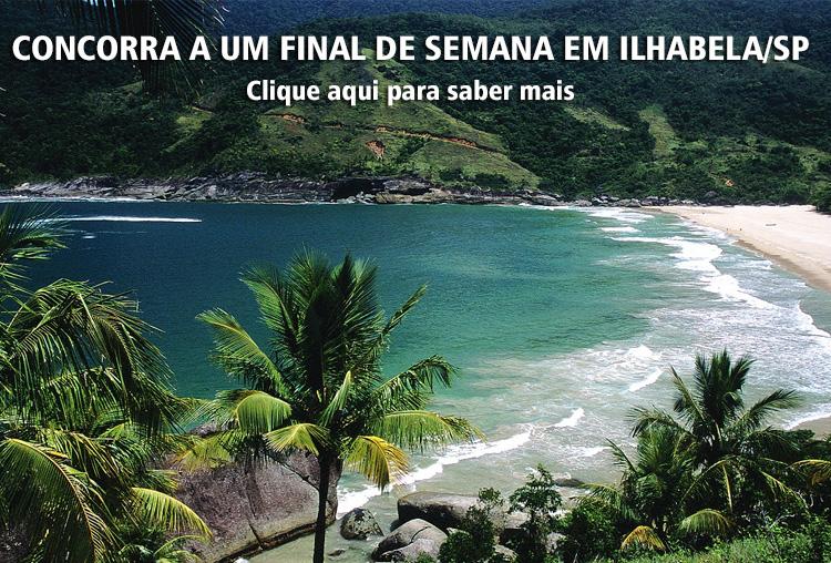 Concorra a um Final de Semana em IlhaBela-SP